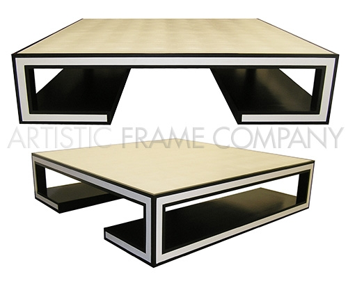 Tremendous Leather Wrapped Coffee Table Artisticframe Com Bralicious Painted Fabric Chair Ideas Braliciousco